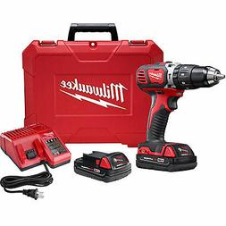 "Milwaukee M18 Compact 1/2"" Hammer Drill/Driver Kit"