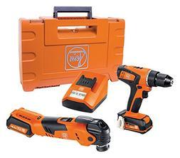 Fein 2615086 12V MultiTalent Cordless Drill & Driver Kit - 6