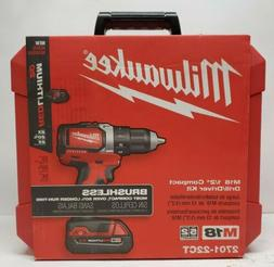 Milwaukee 2701-22CT M18 18 v Brushless Cordless Compact Dril