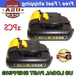 2Pack 12V MAX XR Lithium-ion Replacement Battery for Dewalt