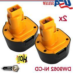 2xFor DEWALT DW9062 9.6VOLT DE9036 DW926K DW952K DW955K Cord