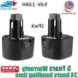 9.6V 3.0Ah Replacement Battery for Black & Decker PS120 Fire