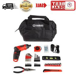 3.6V Cordless Drill with Rechargeable Lithium Ion Battery &