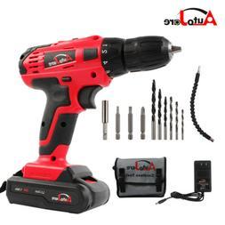 NEW 3/8inch Cordless drill Driver kit Battery Li-Ion powerfu