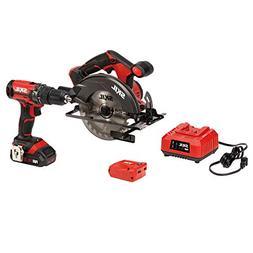 SKIL 20V 3-Tool Combo Kit: 20V Cordless Drill Driver, Circul