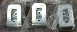 3 PACK Genuine DeWALT Belt Clip Hook 20V Cordless Drill Driv