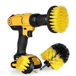3 pcs Power Scrubber Brush <font><b>Drill</b></font> Brush C
