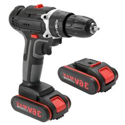 36V Impact Cordless Drill High-power Hand Drills Home Electr