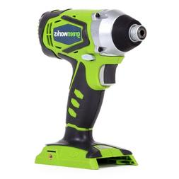 Greenworks 37032A G-24 24V Cordless Lithium-Ion 1/4 in. Hex
