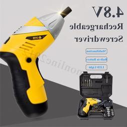 4 8V Cordless Electric Screwdriver Hand