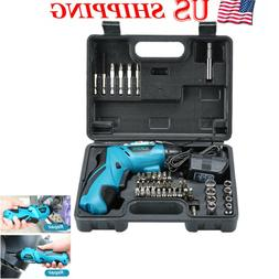 45PC 4.8V Electric Screwdriver Multi Charge Hand Cordless Dr