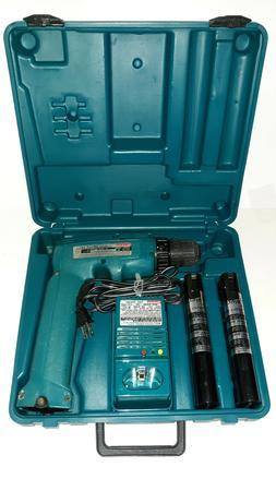 "Makita 6095D 9.6V 3/8"" Cordless Driver Drill - Fast Charger"