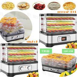8 Tray Electric FOOD DEHYDRATOR Beef Jerky Snack Machine Fru