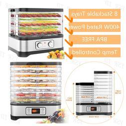 8-Tray Electric FOOD DEHYDRATOR Beef Jerky Snack Machine Fru