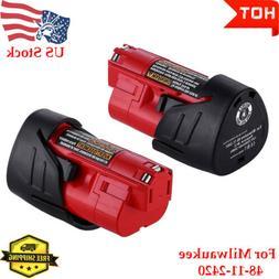 Milwaukee Electric Tool 811057 M12 Redlithium 2.0Ah Cp Bat