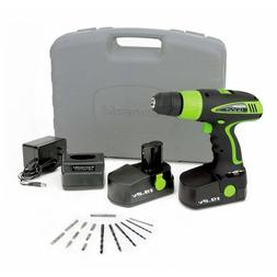 NEW Kawasaki 840110 Black 19.2-Volt Drill Kit