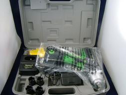 KAWASAKI 840223 - IMPACT DRILL W/ CASE, CHARGER & SOCKETS -