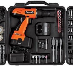 Stalwart 89 piece 18V Cordless Drill Set
