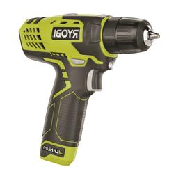 Ryobi 8V Lithium Ion Drill Kit Suitable for drilling and dri
