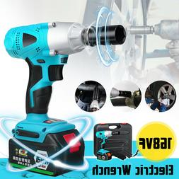 """168VF 19800mAh 1/2"""" Electric Cordless Impact Wrench Drill So"""