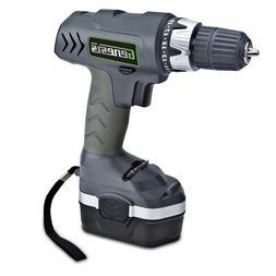 Genesis GCD18CP Cordless Drill/Driver 18-Volt w/21 Torque Se