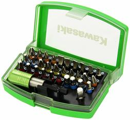 KAWASAKI 32 BIT HEX DRILL DRIVER KIT SCREWDRIVER PHILLIPS ST
