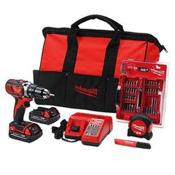 MILWAUKEE: 2606-22CTP: M18 Cordless Drill/Driver Kit: GREAT
