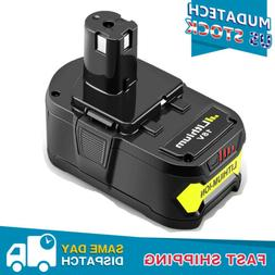 P108 for Ryobi 18V Lithium Battery 4.0Ah One Plus P102 P103
