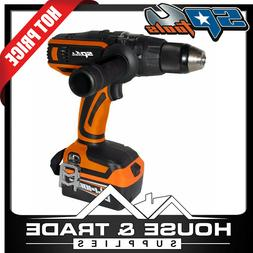 "SP Tools Driver Drill Cordless 18v 1/2"" + Charger + 2x 3.0Ah"
