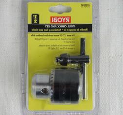 Ryobi A10KC31 1/2 in. 20 TPI Drill Chuck and Key New - Free