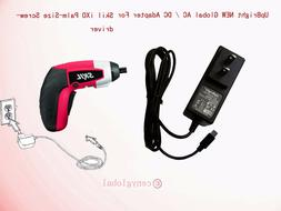 AC Adapter For Skil 2354 iXO 4V Max Lithium-Ion Palm-Sized C