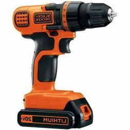 *Bare Tool* New BLACK+DECKER LDX120 20V Cordless Drill /Driv
