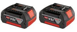 Bosch BAT620-2PK 18-volt Lithium-Ion 4.0 AH Battery with Dig