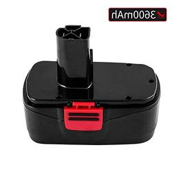 Battery for Craftsman C3 19.2Volt 3.6Ah NiMh Replace for 130