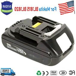 Makita BL1830-2 18-Volt 3.0 AH Battery, 2-Pack