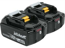 Makita BL1850B-2 18V 5.0 Ah LXT Lithium-Ion Battery