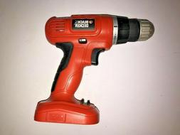 Black and Decker 12V Cordless Drill GCO1200 Tool Only NEW