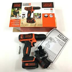 Black And Decker 12v Cordless Lithium-ion Drill/Driver BDCD1