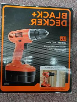 BLACK+DECKER™ 18v Cordless Power Drill/Driver with Bonus A