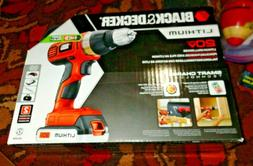 BLACK+DECKER 20-Volt MAX* Lithium Cordless Drill With Batter