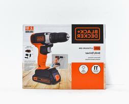 Black+Decker 20v MAX Cordless Drill/Driver - BCD702C1
