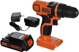 BLACK+DECKER LDX120C 20V Max Lithium-Ion Cordless 3/8 inch D