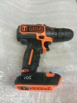 BLACK+DECKER BDCDD120C 20V MAX Lithium Single Speed Drill/Dr