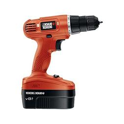 Black & Decker 18V Cordless Drill With Accessories GC1800VA