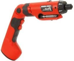 Black and Decker Drill Driver Cordless Screwdriver Rechargea