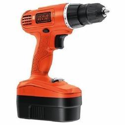 "- BLACK+DECKER GC1800  18V NiCd 3/8""  Cordless Drill/Driver"
