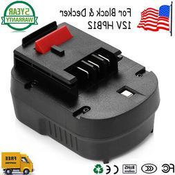 Titan? Black & Decker HPB12 12 Volt NiCad Slide 12V Battery