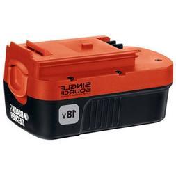 BLACK+DECKER 18 Volt Battery NiCd Single