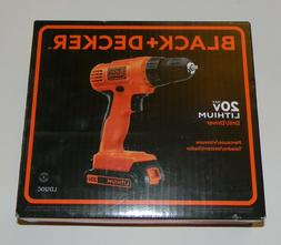 Black & Decker LD120CBFR 20V MAX Cordless Lithium-Ion 3/8 in