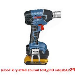 BOSCH 18V Cordless Drill Tools Adapter Work with DEWALT 20V